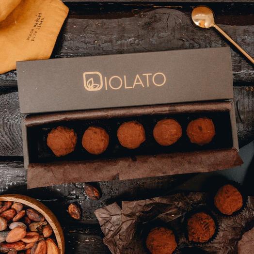 Шоколадное какао трюфели: букеты цветов на заказ Flowwow
