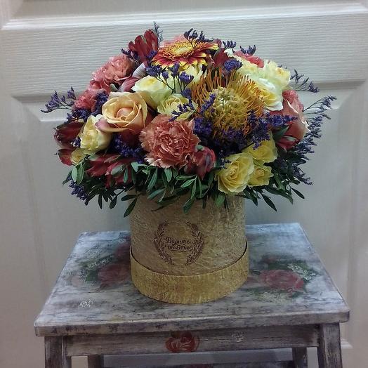 Экзотическая Роскошь: букеты цветов на заказ Flowwow