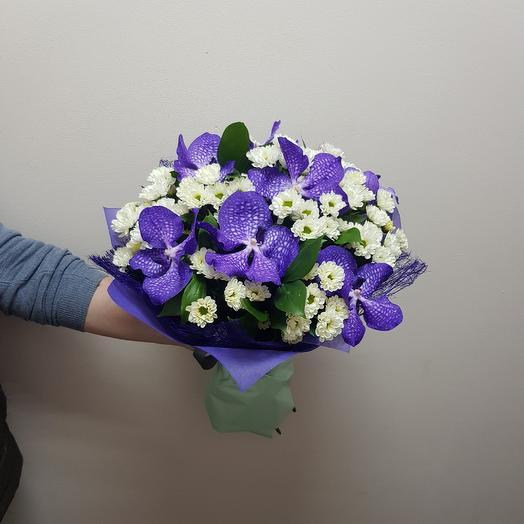 Букет ВАНДА: букеты цветов на заказ Flowwow