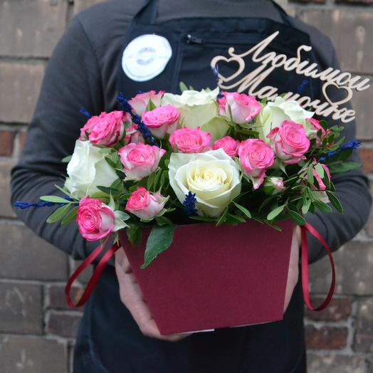 Маленький подарок маме ( топпер мамочке в подарок): букеты цветов на заказ Flowwow
