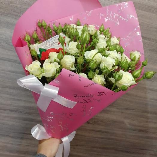 ✅ Букет из кустовых роз