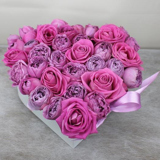 Здесь живет любовь 2: букеты цветов на заказ Flowwow