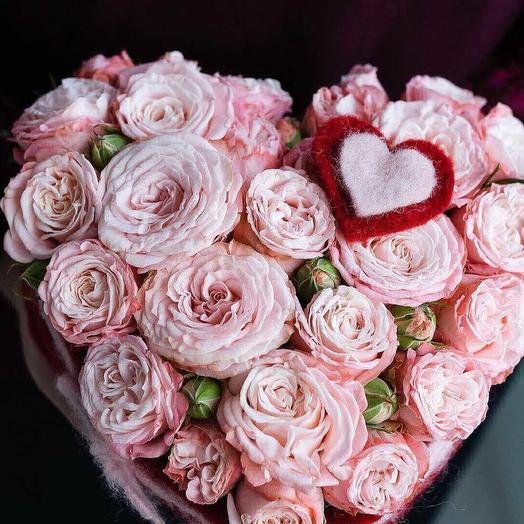 С Днем Святого Влентина: букеты цветов на заказ Flowwow