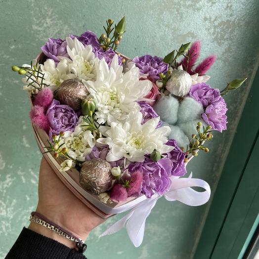 Самой самой💜: букеты цветов на заказ Flowwow