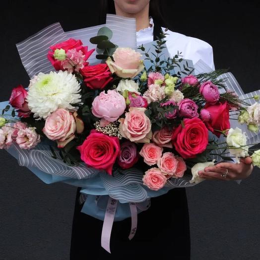 Букет «Карина»: букеты цветов на заказ Flowwow