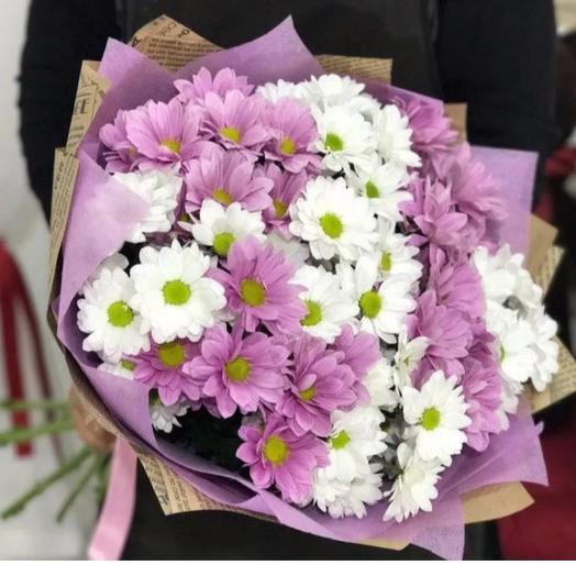 Монобукет из Хризантемы: букеты цветов на заказ Flowwow