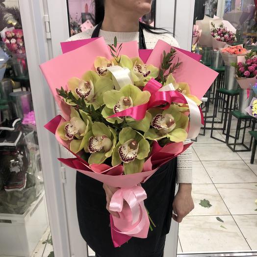 Букет Орхидея 2: букеты цветов на заказ Flowwow