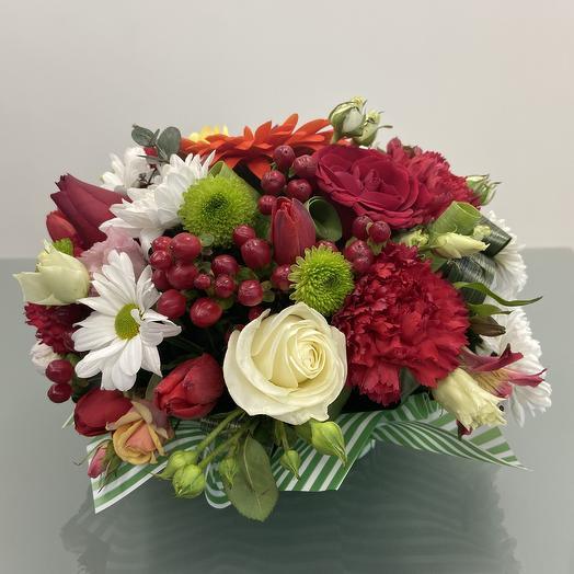 Настольная композиция 2: букеты цветов на заказ Flowwow