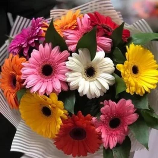 Солнечный микс гермини: букеты цветов на заказ Flowwow