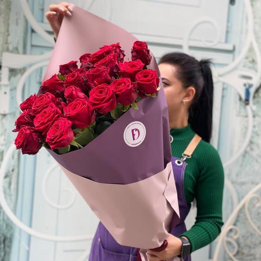 Букет из высоких Роз