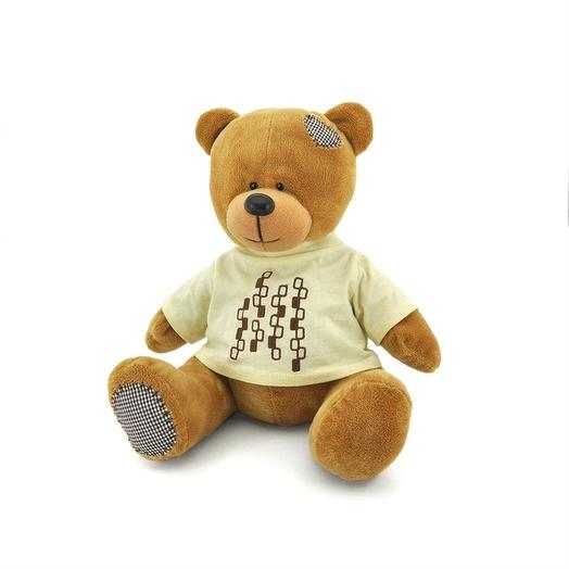 Мягкая игрушка «Медведь Топтыжкин», коричневый, 20 см: букеты цветов на заказ Flowwow