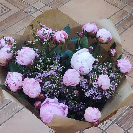 "Букет ""Нежное облако"": букеты цветов на заказ Flowwow"