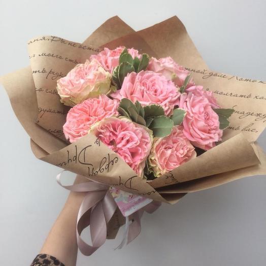 Розовые пионушки