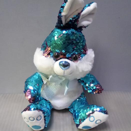 Кролик в пайетках