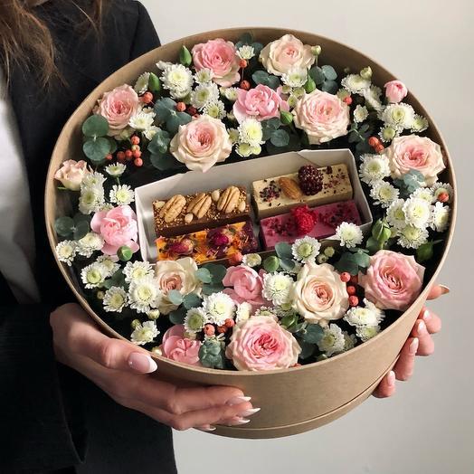 Цветы и десерты