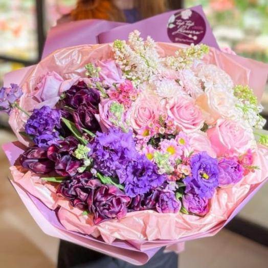 Цветочный букет 9