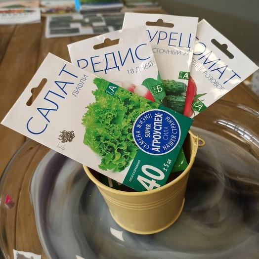 "Набор семян ""Салатный"""
