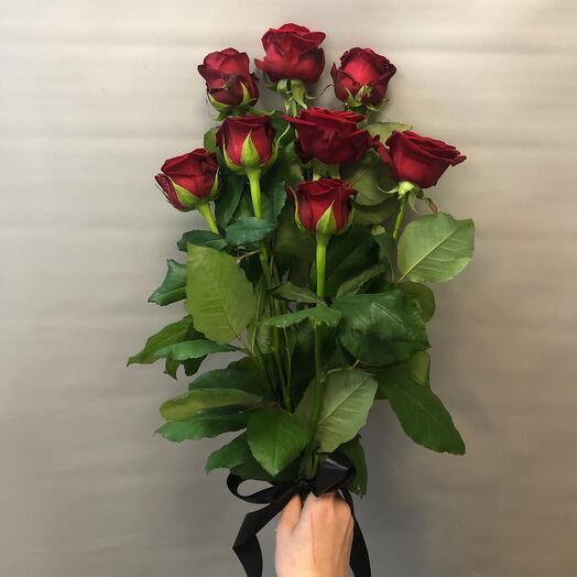 «Вечность» 8 красных роз
