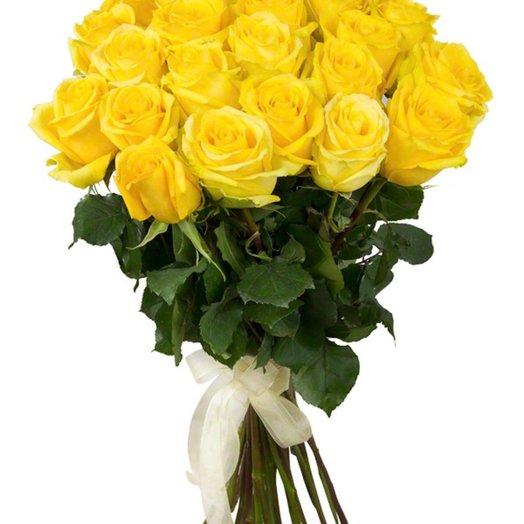 Роза 25 шт 60 см: букеты цветов на заказ Flowwow