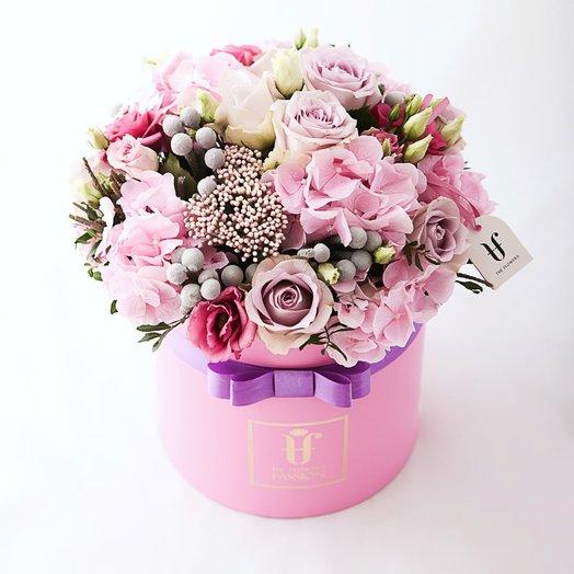 Фризипинк: букеты цветов на заказ Flowwow