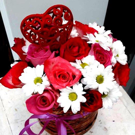 Полет чувств: букеты цветов на заказ Flowwow