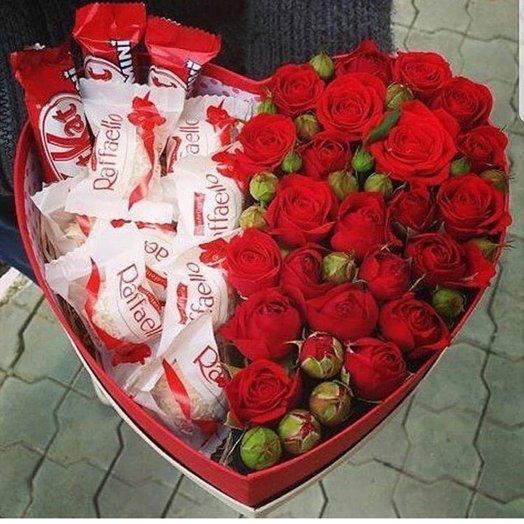 """Композиция """"С любовью"""": букеты цветов на заказ Flowwow"""