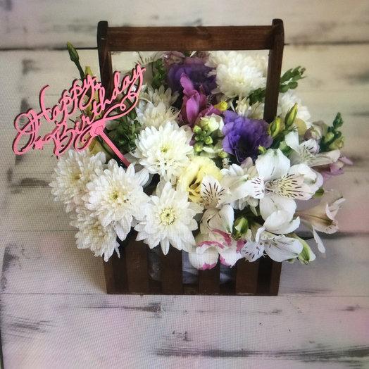 Ящик: букеты цветов на заказ Flowwow