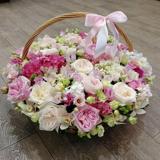 Розовый вальс: букеты цветов на заказ Flowwow