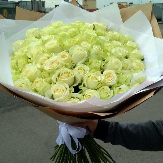 Кенийская роза 101: букеты цветов на заказ Flowwow