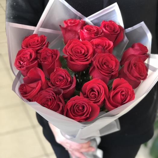 """Роза в упаковке """"Цветочный рай"""""""