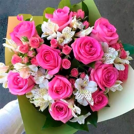 Счастливый день: букеты цветов на заказ Flowwow