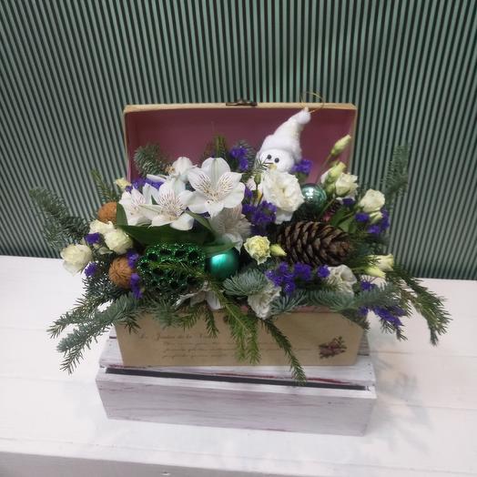 Сундук со сказками: букеты цветов на заказ Flowwow