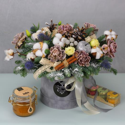 Новогодняя ночь: букеты цветов на заказ Flowwow
