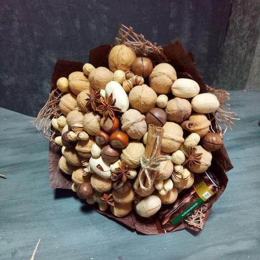 Ореховый букет: букеты цветов на заказ Flowwow