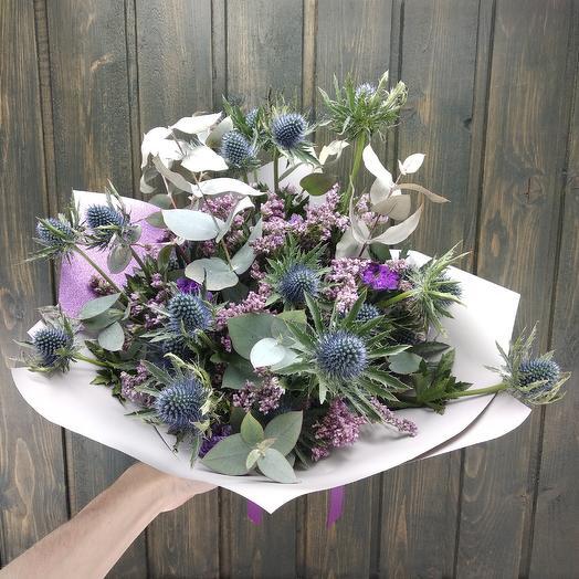 Ароматные сухоцветы: букеты цветов на заказ Flowwow