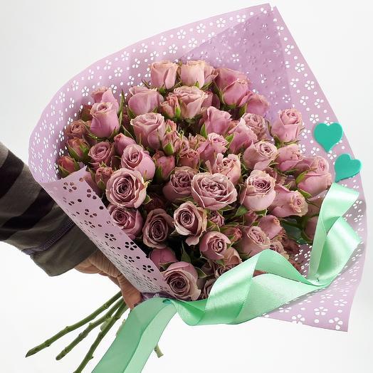 Черничное парфе: букеты цветов на заказ Flowwow