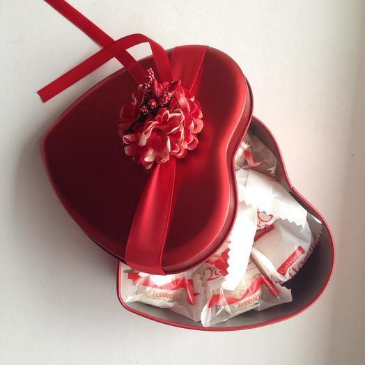 Сладкая Валентинка: букеты цветов на заказ Flowwow