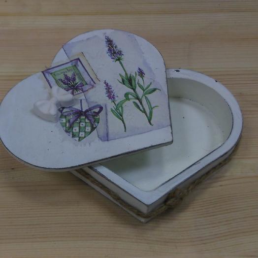 Коробочка для украшений, колец: букеты цветов на заказ Flowwow