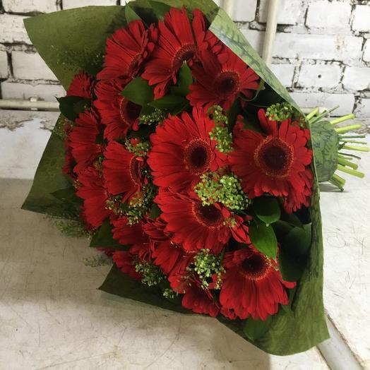Огненная весна: букеты цветов на заказ Flowwow