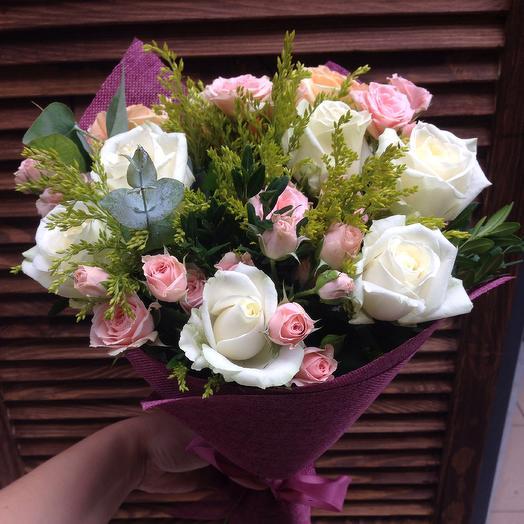 Букет Французский: букеты цветов на заказ Flowwow