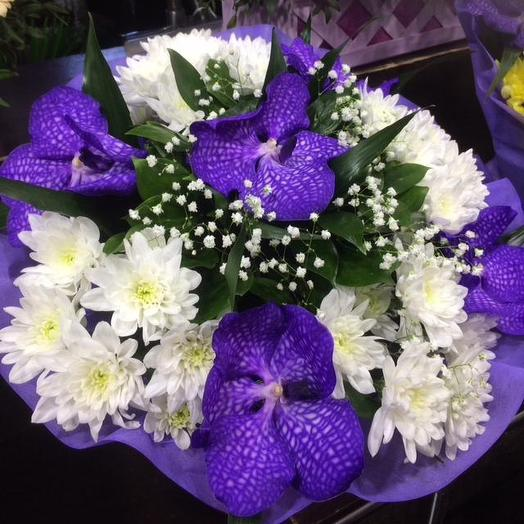 Букет с вандой: букеты цветов на заказ Flowwow