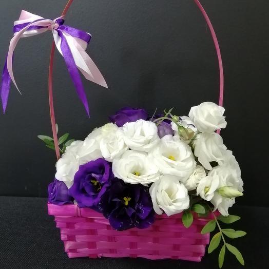 Эустома Прекрасная: букеты цветов на заказ Flowwow