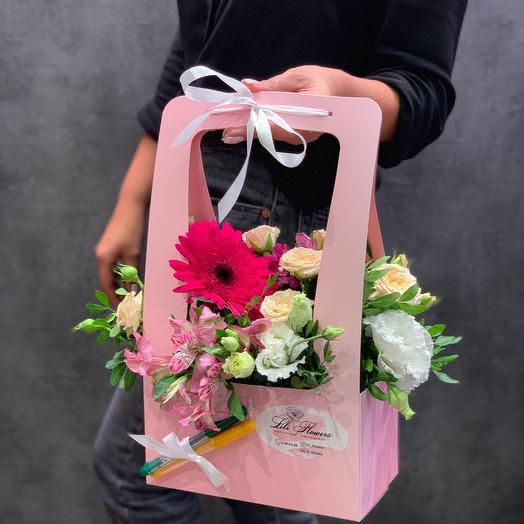 Композиция из цветов к 1 сентября: букеты цветов на заказ Flowwow