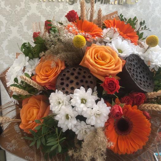 Дары осени: букеты цветов на заказ Flowwow