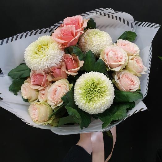 Нежное послание: букеты цветов на заказ Flowwow