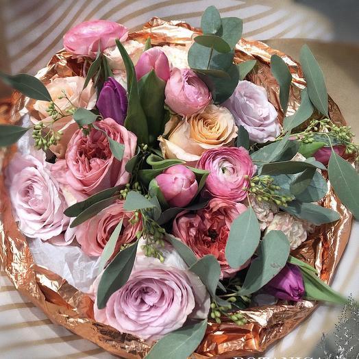 Сочный зефир: букеты цветов на заказ Flowwow