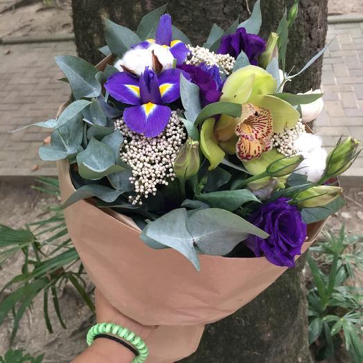 Букет Purple: букеты цветов на заказ Flowwow
