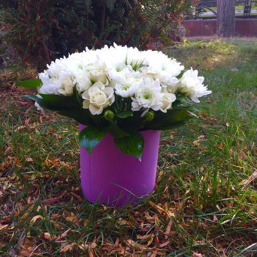Белое Счастье: букеты цветов на заказ Flowwow