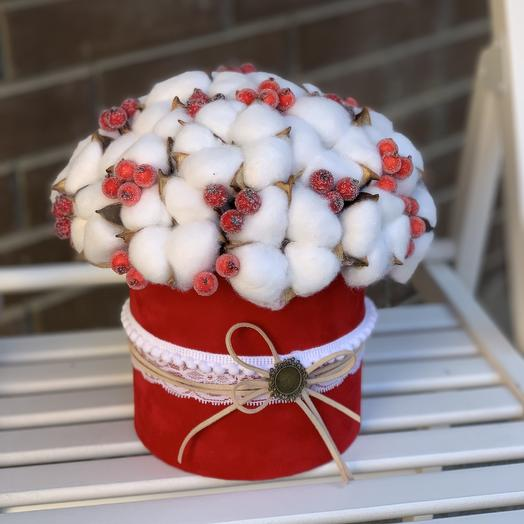 Cotton in the tube: flowers to order Flowwow