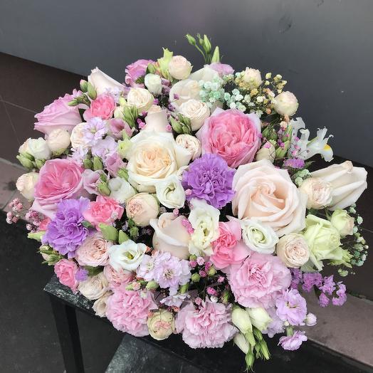 Шикарная коробка ️: букеты цветов на заказ Flowwow